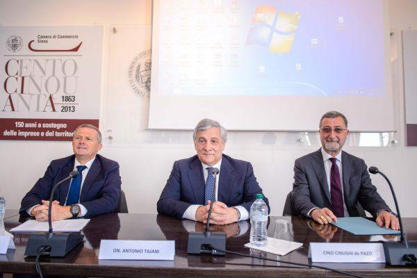 Antonio Tajani Incontro con Consorzio Chianti Colli Senesi 4 Giugno 2018