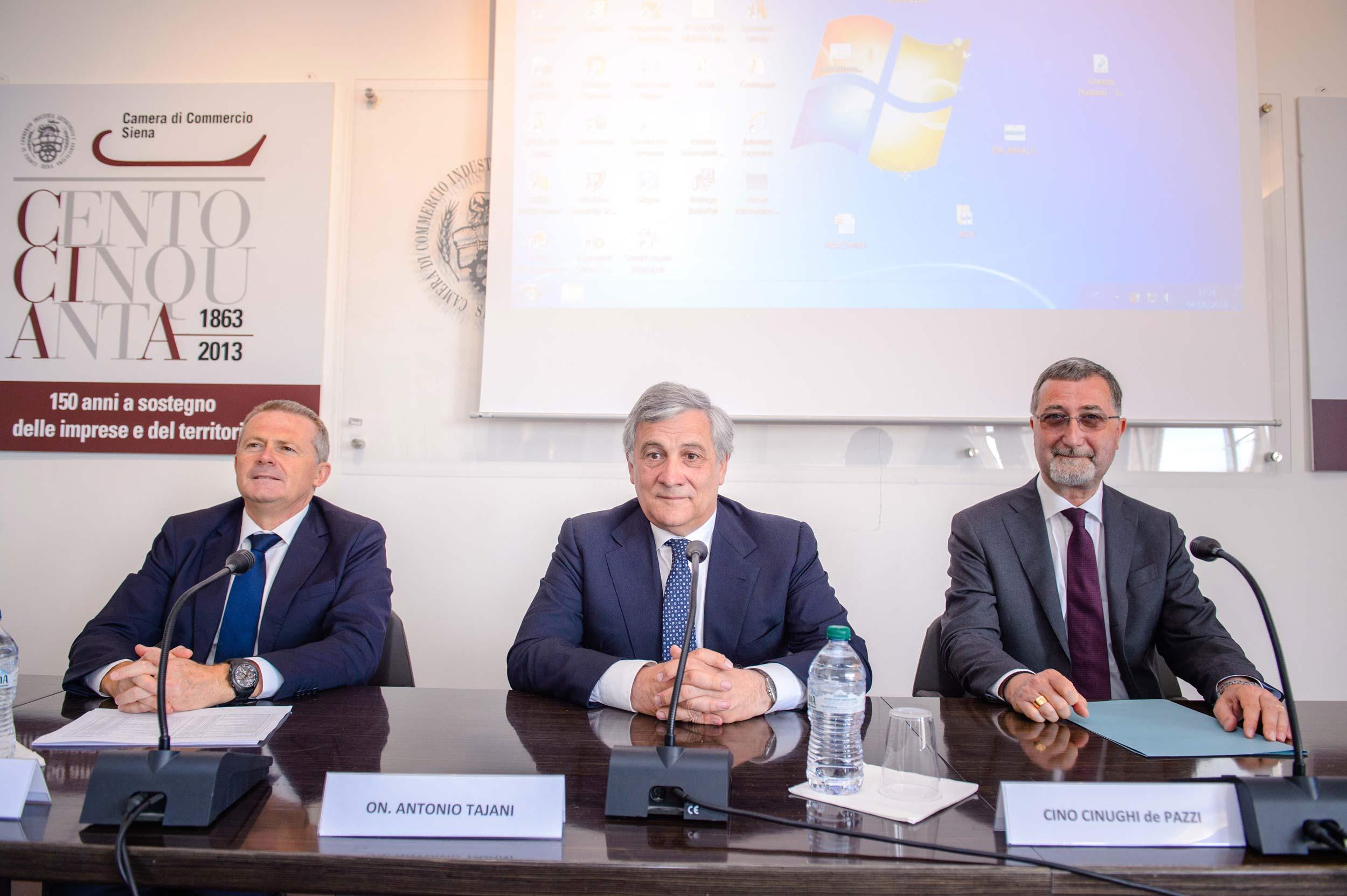 Incontro con l'onorevole Antonio Tajani | 4 Giugno 2018