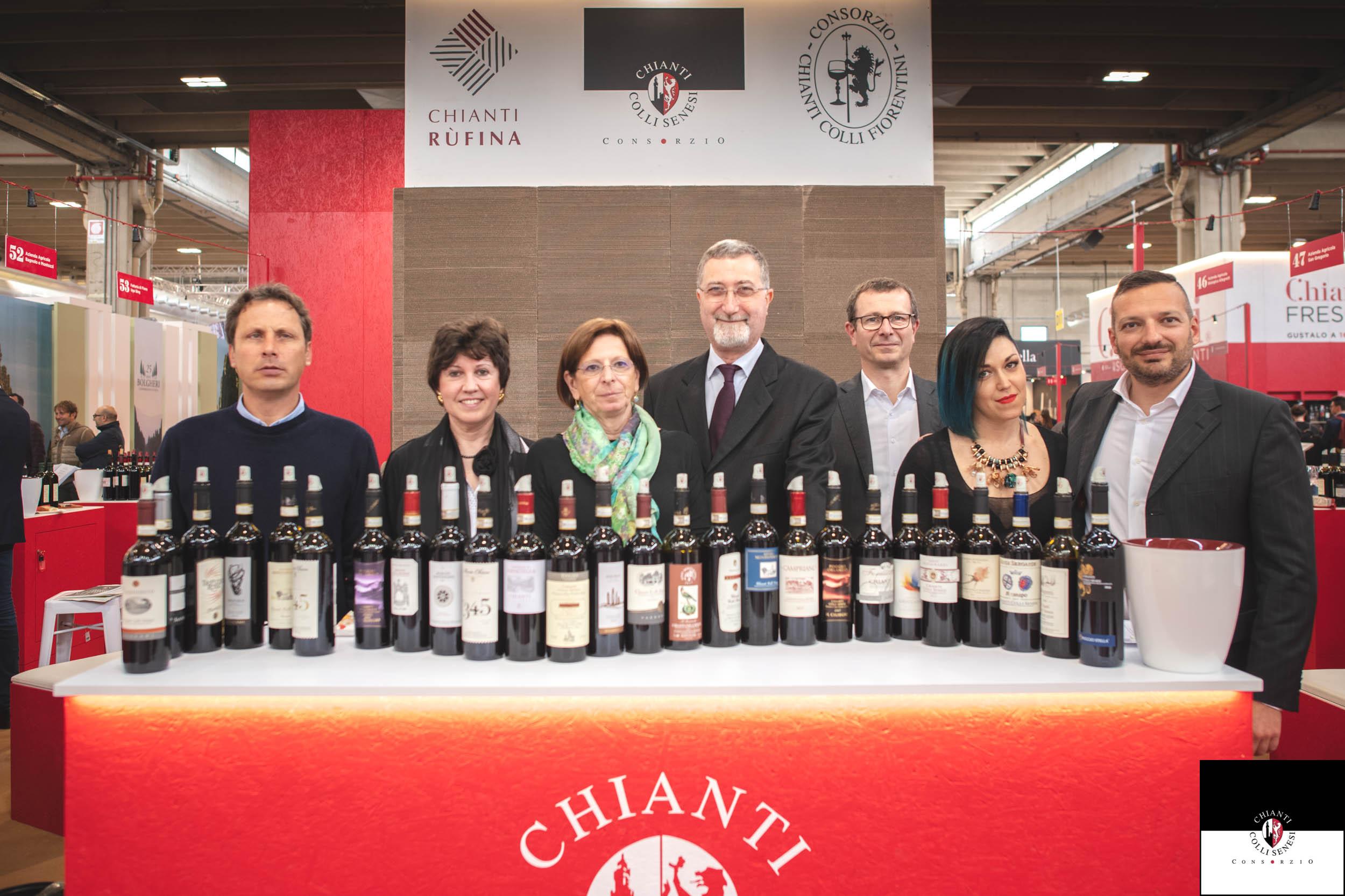 Consorzio Chianti Colli Senesi alla 53esima edizione di Vinitaly 2019